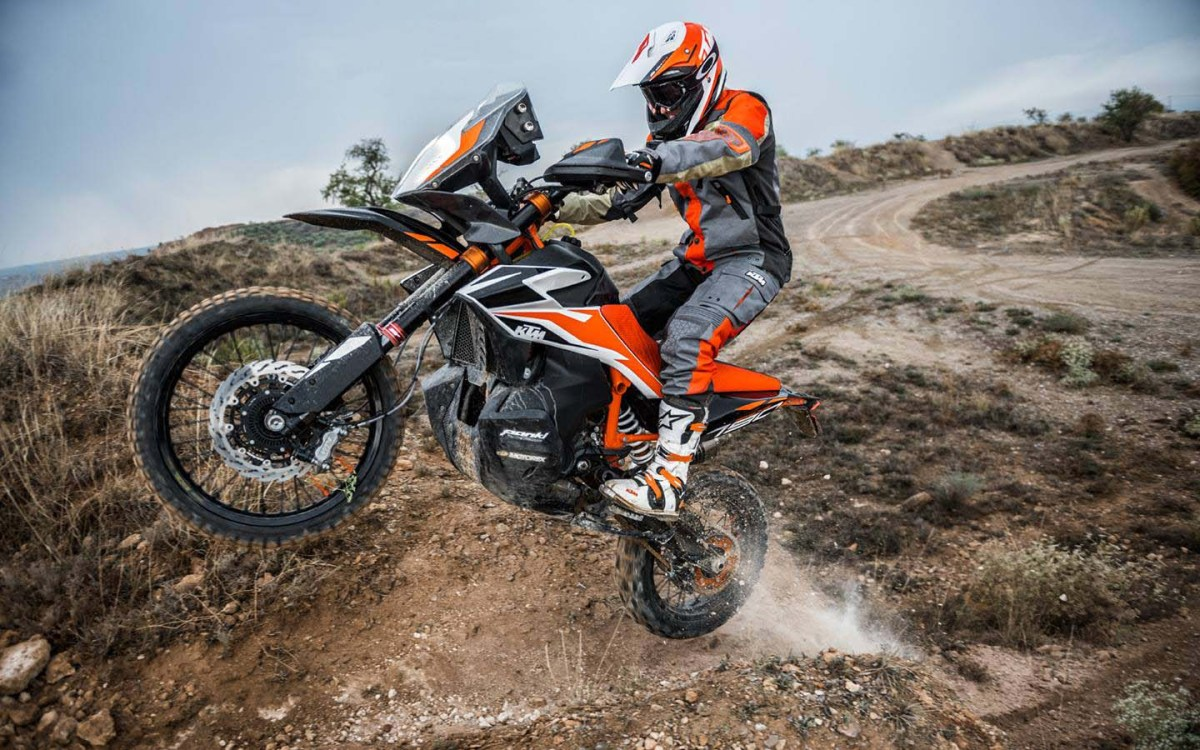 The KTM 790 Adventure R Prototype in Action